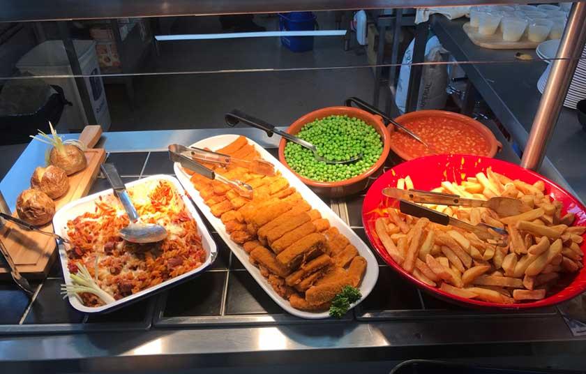 Heath Hayes Academy School Dinners